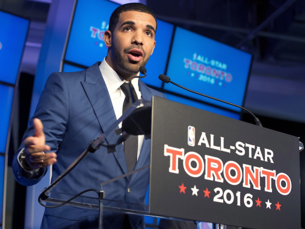 Toronto Raptors make Drake 'global ambassador'