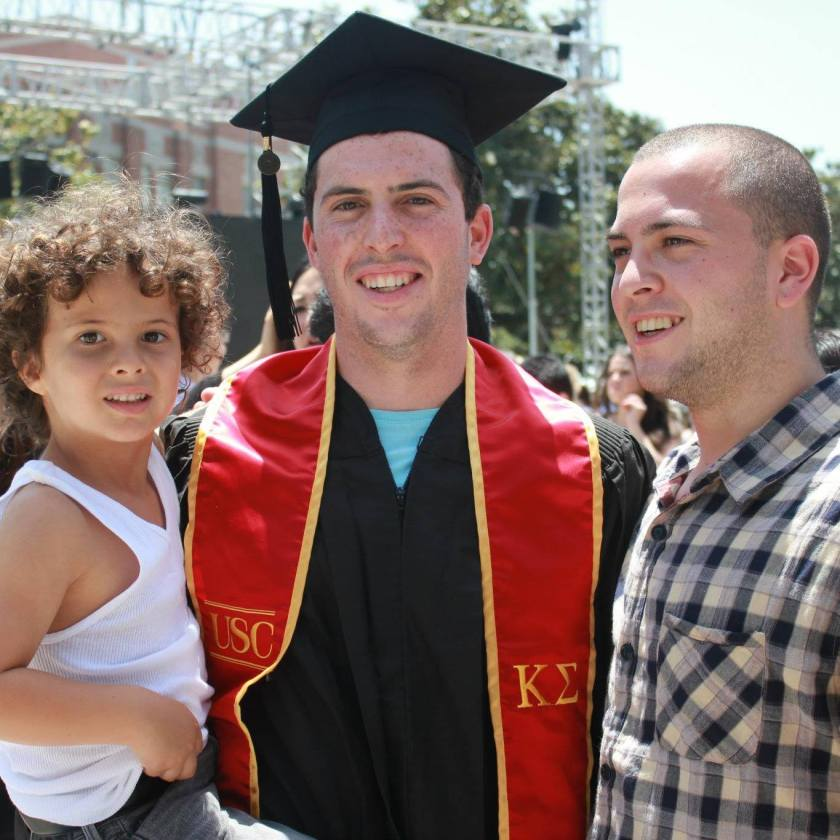 Shannon Farar-Griefer's three sons.